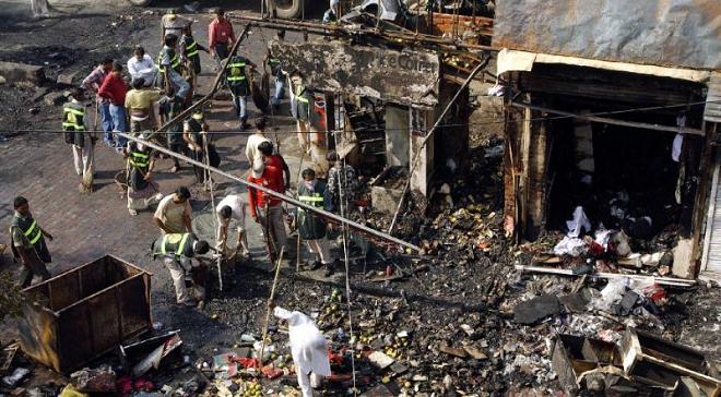 delhi blast inmarathi