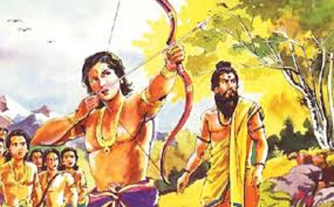 dronacharya arjun inmarathi 1