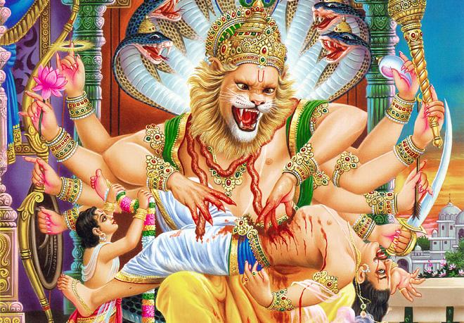hiranyakagyapu vadh inmarathi