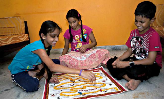 indian kids inmarathi