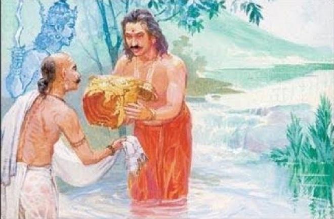 karna and arjun inmarathi 1