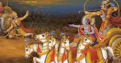 karna and arjun inmarathi