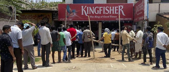 liqour shops open inmarathi