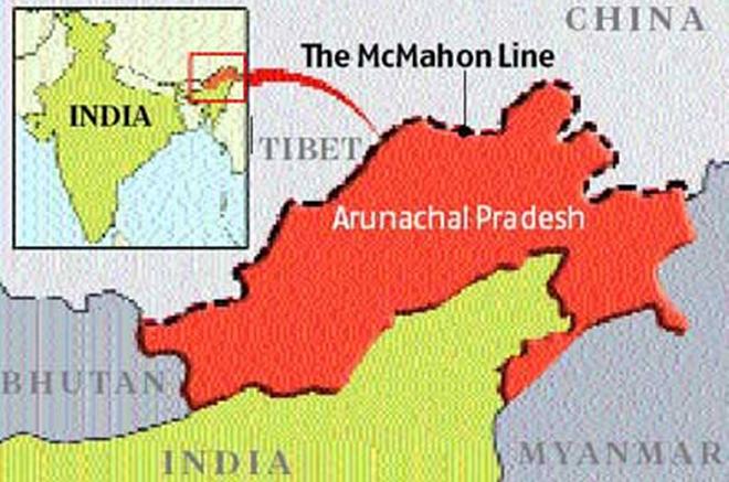 macmohan line inmarathi