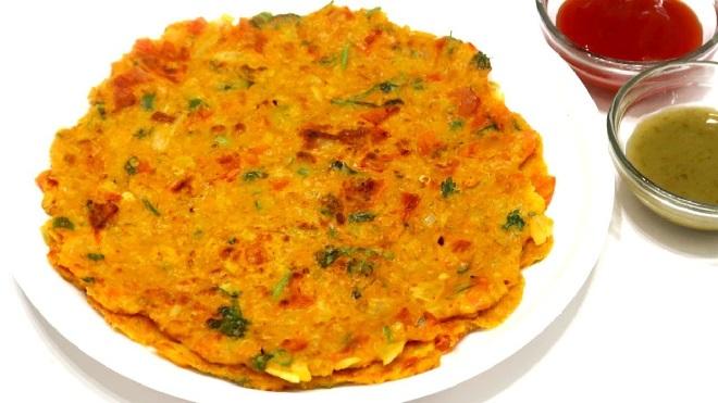 oats chilla inmarathi