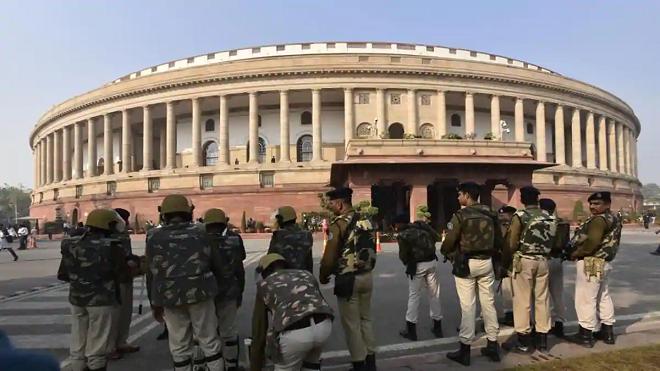 parliament attack inmarathi