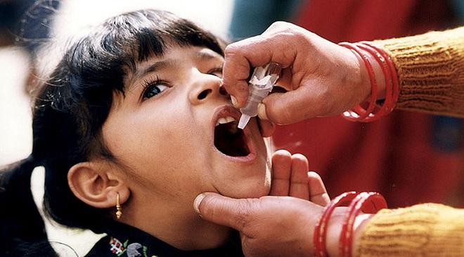 polio vaccine inmarathi