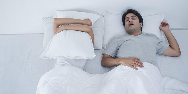 snoring inmarathi