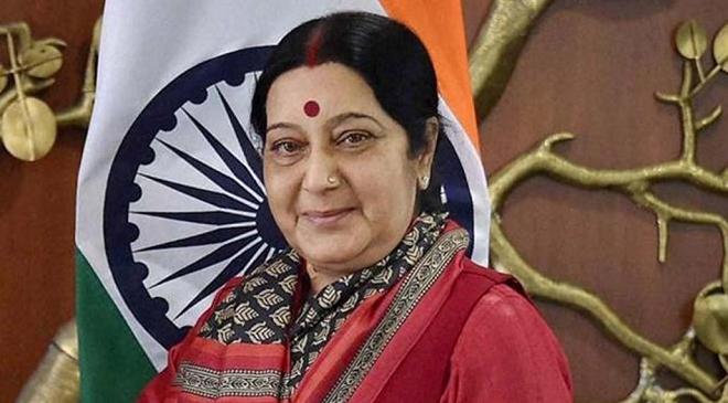 sushma swaraj inmarathi