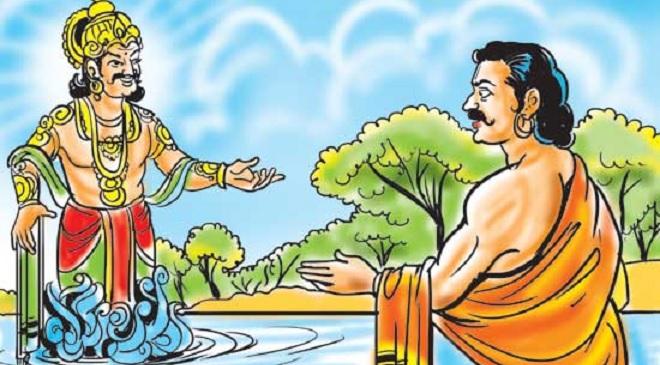 yaksh yudhishthir sanvad inmarathi