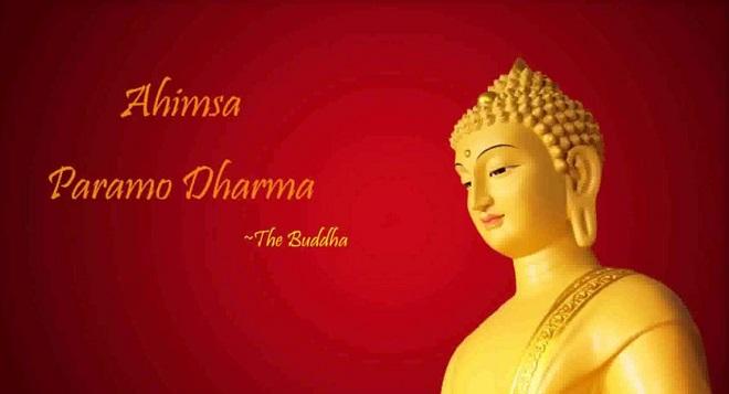 ahinsa parmo dharma inmarathi