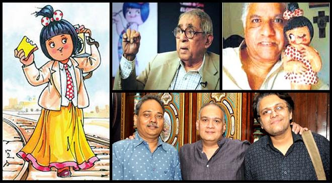amul girl creators inmarathi
