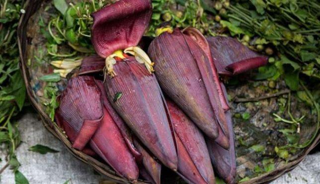 banana flower inmarathi