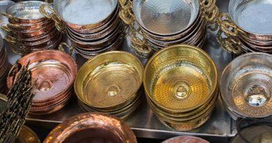 brass utensils inmarathi