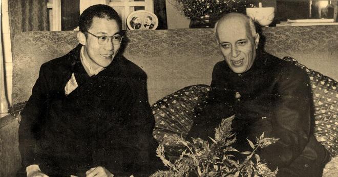 dalai lama nehru inmarathi