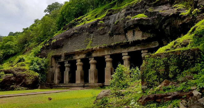 elephanta caves inmarathi