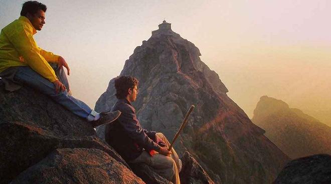 girnar trekking inmarathi