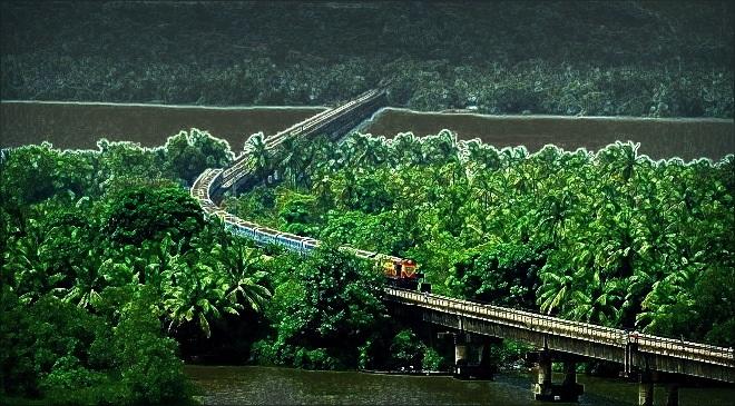 kokan railway inmarathi
