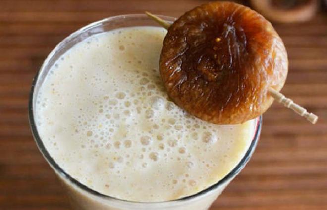 milk anjeer inmarathi