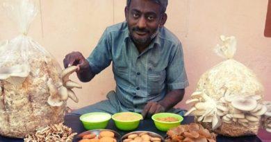 mushroom farmer inmarathi