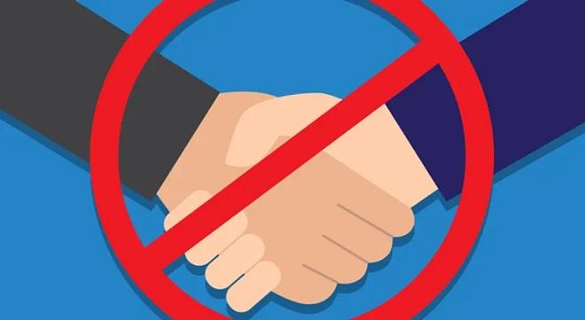 no hand shake inmarathi