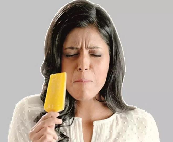 teeth pain ice cream inmarathi