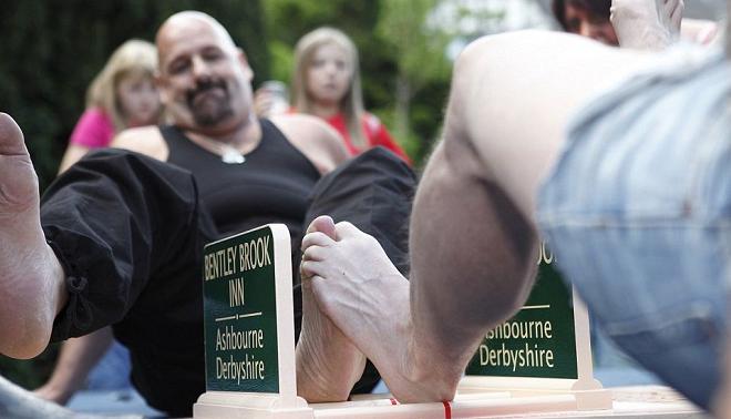 toe wrestling inmarathi
