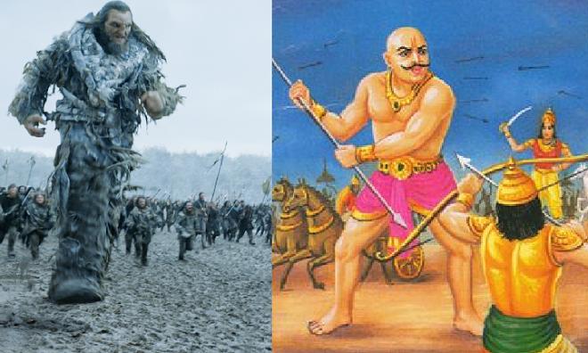 wildlings and ghatotkach inmarathi