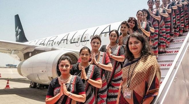 Air-hostess- Early retirement Inmarathi