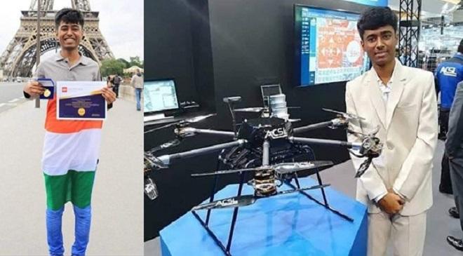 M Pratap Drone InMarathi