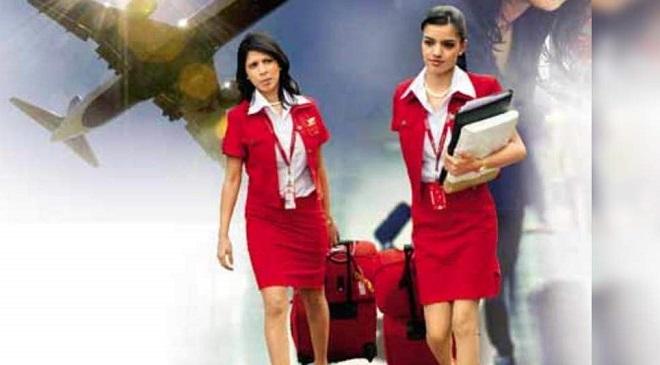 Overworked Air Hostess InMarathi
