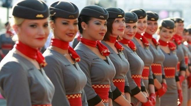 Polite Air-Hostess InMarathi