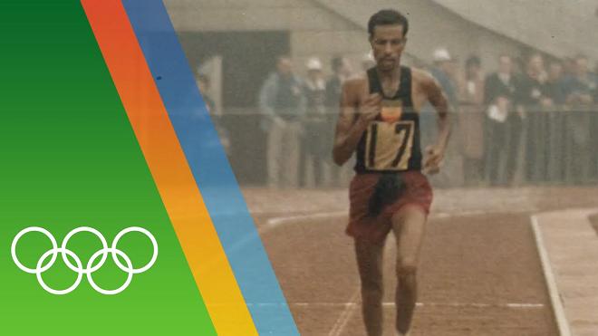 abebe bikila olympic inmarathhi