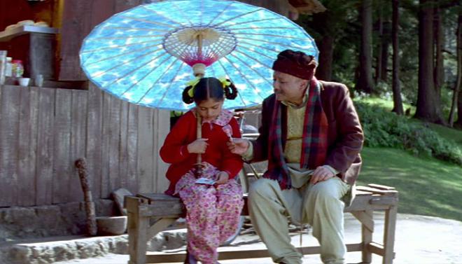 blue umbrella inmarathi