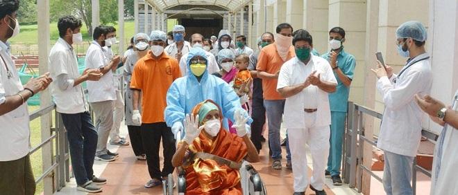 corona patient recovery inmarathi