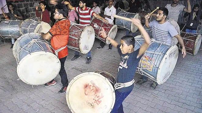 dhol tasha pathak pune inmarathi