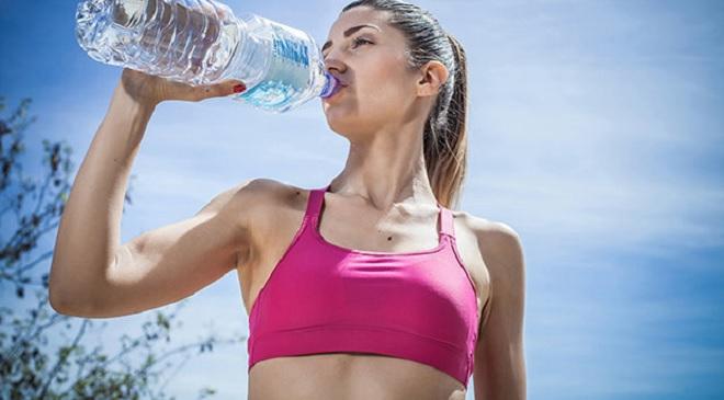 drinking water girl inmarathi