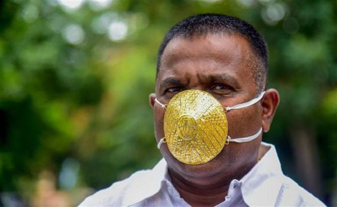 golden mask inmarathi