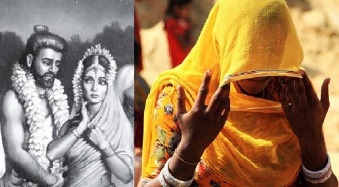 """रामायण-महाभारत काळात नसलेली """"पडदा""""/""""घुंघट"""" कुप्रथा भारतावर लादली जाण्याचा क्रूर इतिहास…"""
