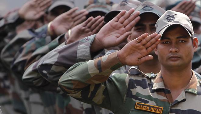 army salute inmarathi