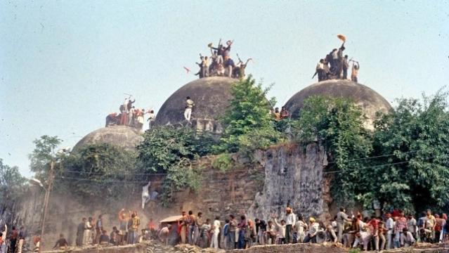 babri masjid inmarathi