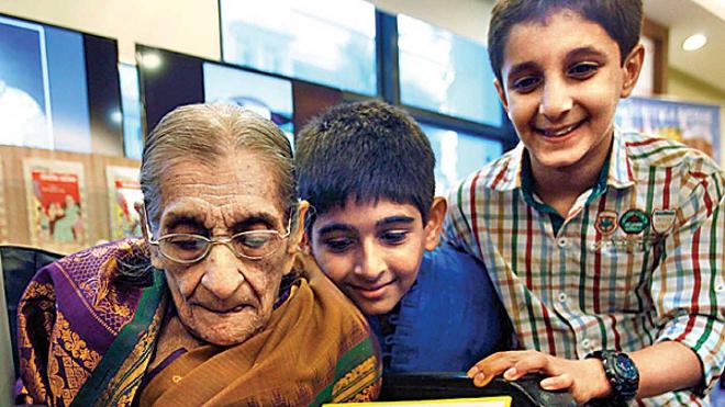 grandma inmarathi