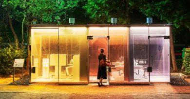 japan transparent toilet inmarathi