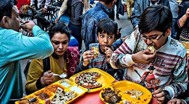 people eating junk food inmarathi