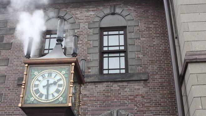 steam clock japan inmarathi