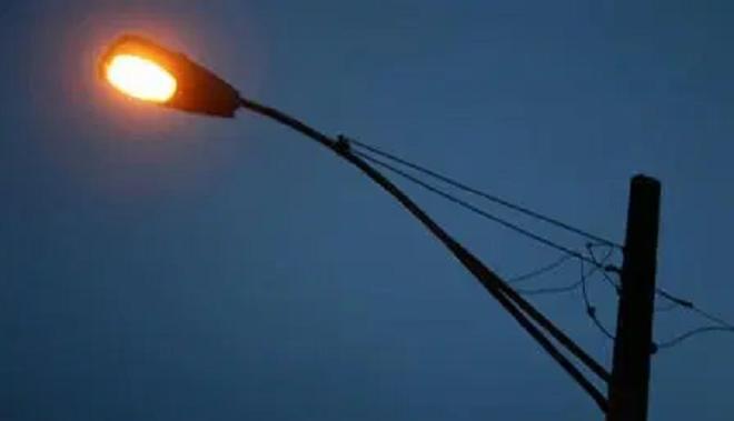 street lights off inmarathi