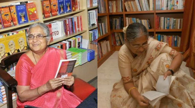 sudha murthy featured inmarathi