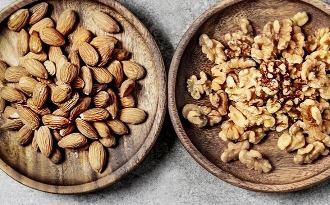 walnut and almond inmarathi