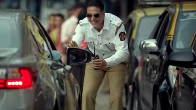akshay kumar trafic ad inmarathi