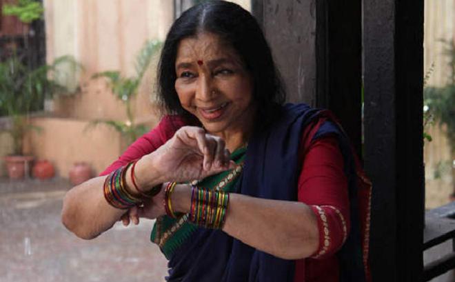 asha bhosle film inmarathi